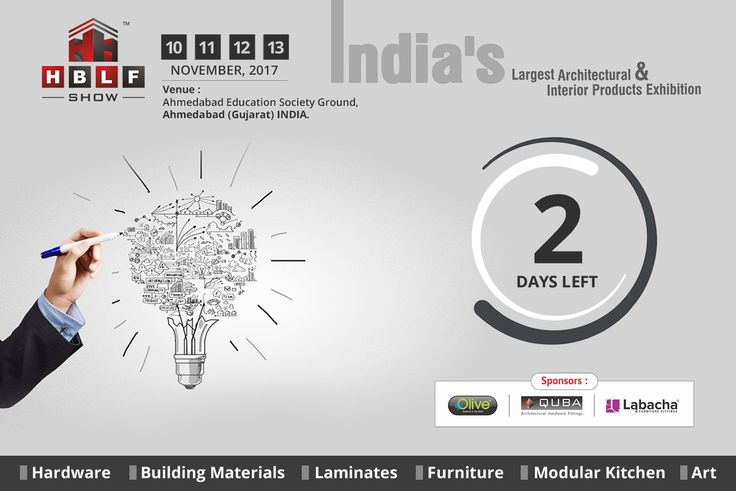 HBLF Show, Come & Visit the 5th edition of AC Dome Exhibition! to avail more than 100 innovative architectural & interior brands from all over INDIA.