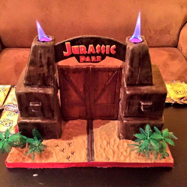 Jurassic Park Kuchen