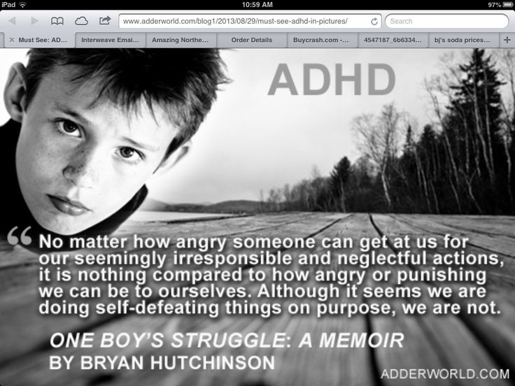ADHD story of my life.