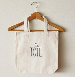 http://ohleander.com/product/le-tote-bag #sac #cabas #totebag #baiseenville #toile #tissu #coton #lin