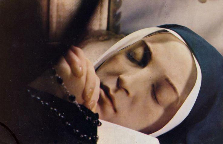 Saint Bernadette of Lourdes, died 1879