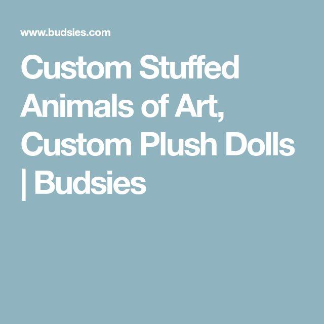 Custom Stuffed Animals of Art, Custom Plush Dolls | Budsies