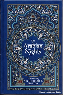 Burton, Richard Francis, Renáta Fučíková, and Jindřa Čapek. The Arabian Nights. New York: Barnes & Noble, 2009. Print.  Hardcover. Bonded leather. No dustjacket.736 pages.