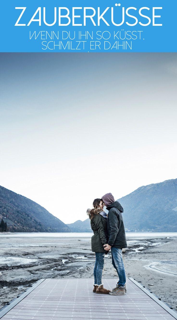 Richtig küssen: Diese Küsse lassen ihn dahinschmelzen!