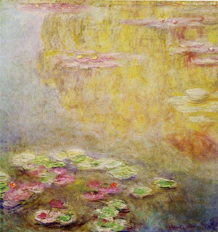CLAUDE MONET (1840-1926) Water lilies, 1908