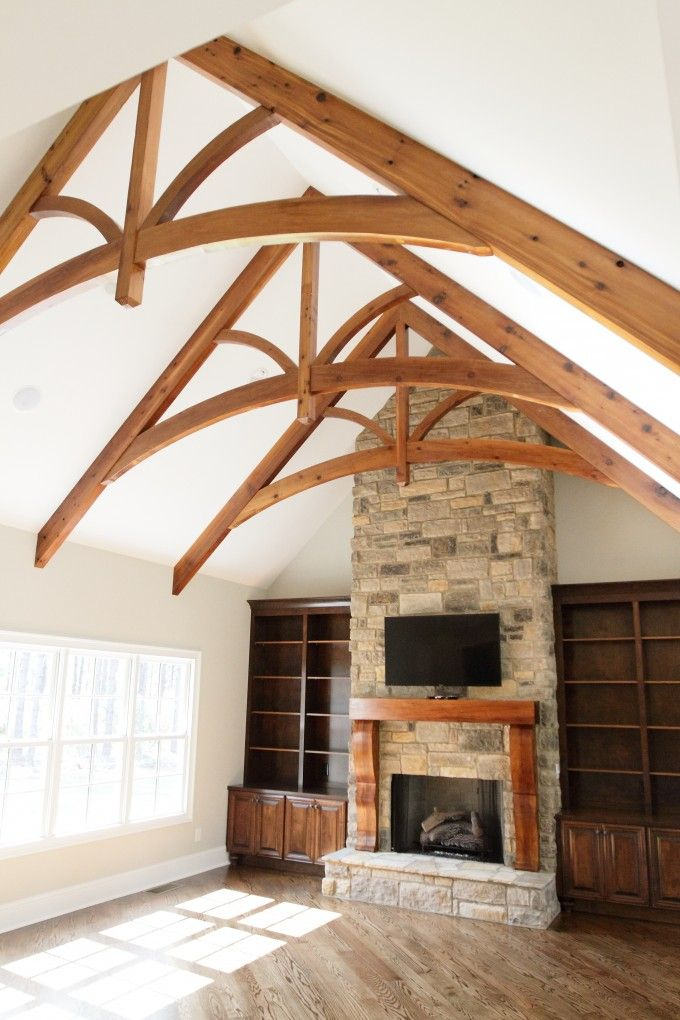 Faux Wood Beams Shingle Google Search House Decorating