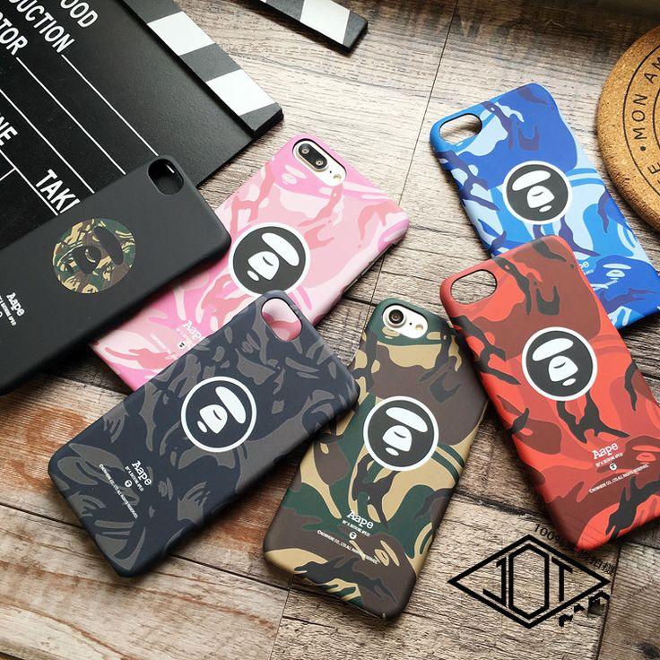 メンズAapeファッションブランド猿サルiPhone5sケースアイフォン7 iPhone6s plusマット素材ハードケースかっこいい携帯カバー
