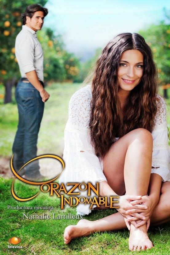 """""""Corazón Indomable"""" estrenó el 25 de febrero a las 4:14pm por El Canal de las Estrellas protagonizada por Ana Brenda Contreras, Daniel Arenas. Producción de Nathalie Lartilleux. Es un remake de """"Mari Mar"""" que protagonizó Thalia."""