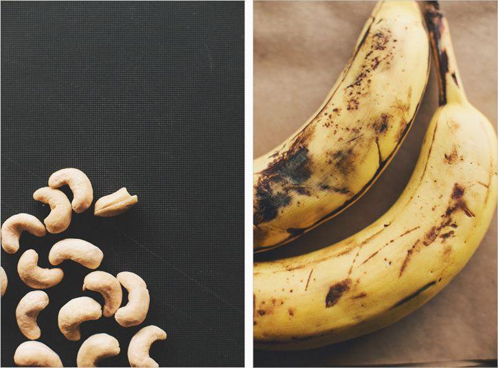 BANANA SNACKING CAKE WITH CASHEW COCONUT CREAM