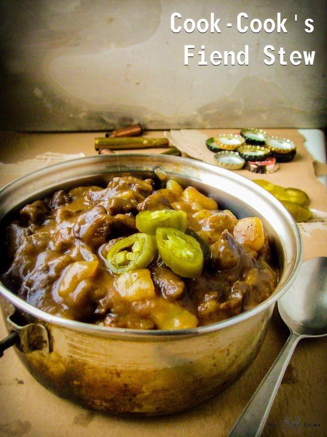 cook-cook's fiend stew - fallout new vegas - gulasz wołowy na piwie z jalapeno m