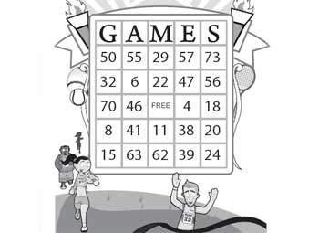 Olympic Bingo