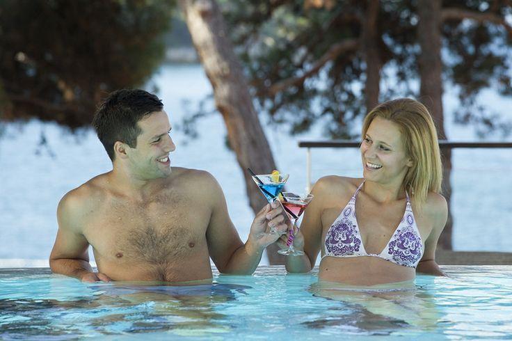 Pool at the hotel #Porec #Croatia
