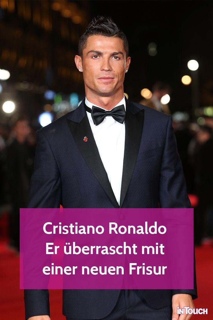 Cristiano Ronaldo Uberrascht Mit Einer Neuen Frisur Ronaldo