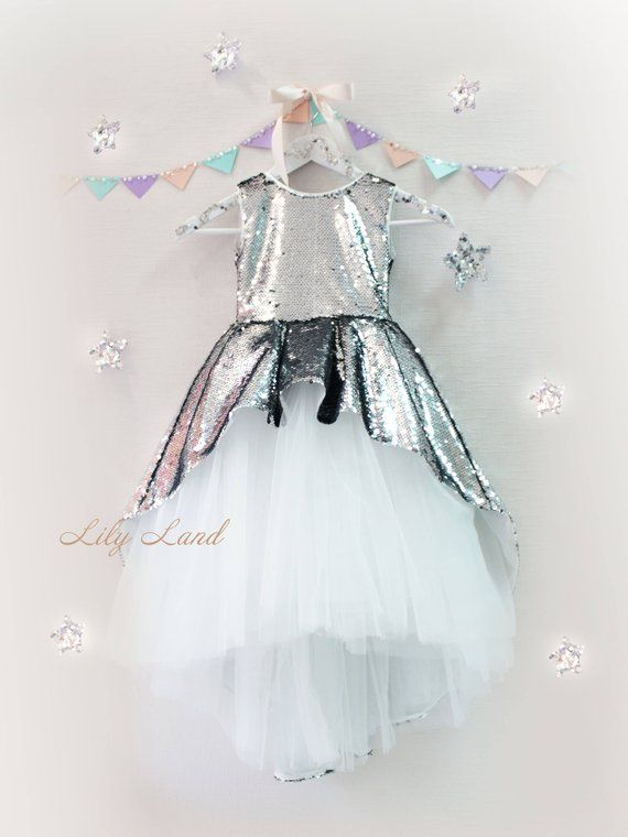 Girl dress silver white tutu dress girls tutu dress baby tutu dress kids tutu dress toddler girl dress size 1 2 3 4 5 6 7 8 9 10 24 month