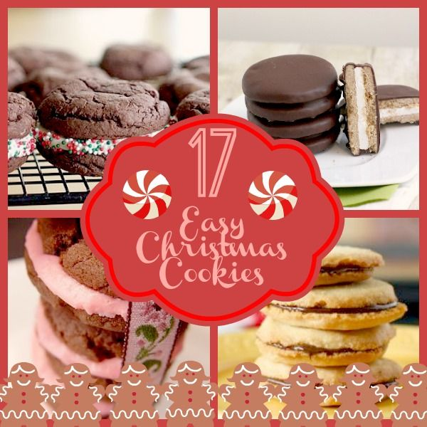 17 Easy Christmas Cookies. The best Christmas cookie recipes ever!