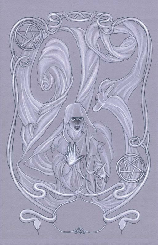 The Occultist #1 Cover by Jenny Frison