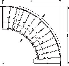 Cooper Stairworks Curved Stair