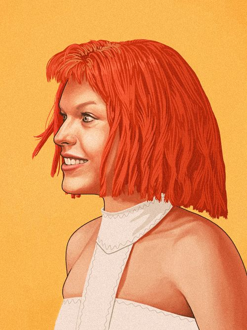 mike-mitchell-movie-characters-illustrations-5 Milla J as LiLou
