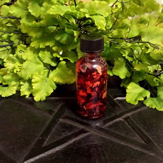 Red Fast Luck Oil  RED HOT Luck  Money  by TheShabbyWitch on Etsy, $6.99