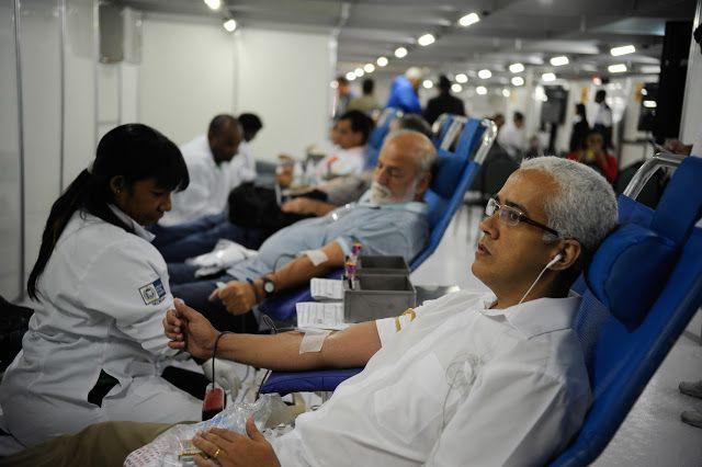 COMO TER UM MUNDO MELHOR: Alerta: doação de sangue só pode ser feita quatro semanas após vacina da febre amarela