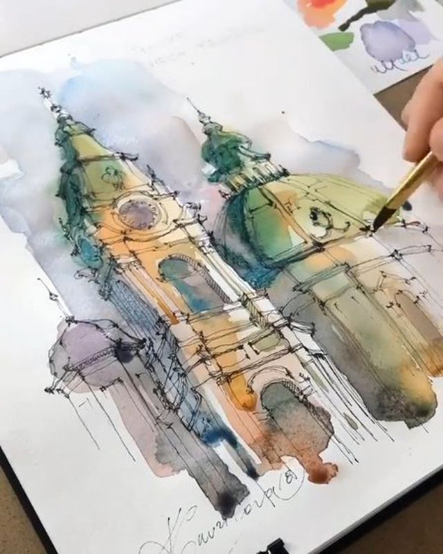 Best Watercolor Art Watercolor Guide Instagram Photos And