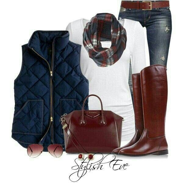 Love this outfit.  Already have jeans and boots.
