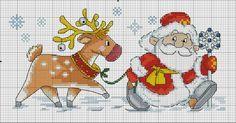 Santa w/Reindeer .... Gallery.ru / Фото #13 - Дед мороз - yasochka61