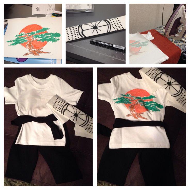 Karate Kid DIY Costume for Toddlers