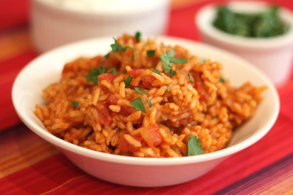 This recipe for Spanish Rice rivals anything you can get in a restaurant. #bossrice #homemade