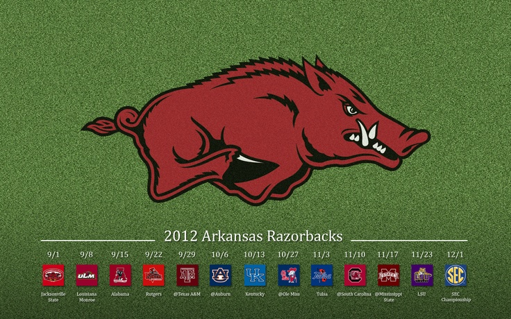 2012 razorback football schedule wallpaper -   http://www.sportsgeekery.com/13697/arkansas-razorbacks-football-wallpapers/