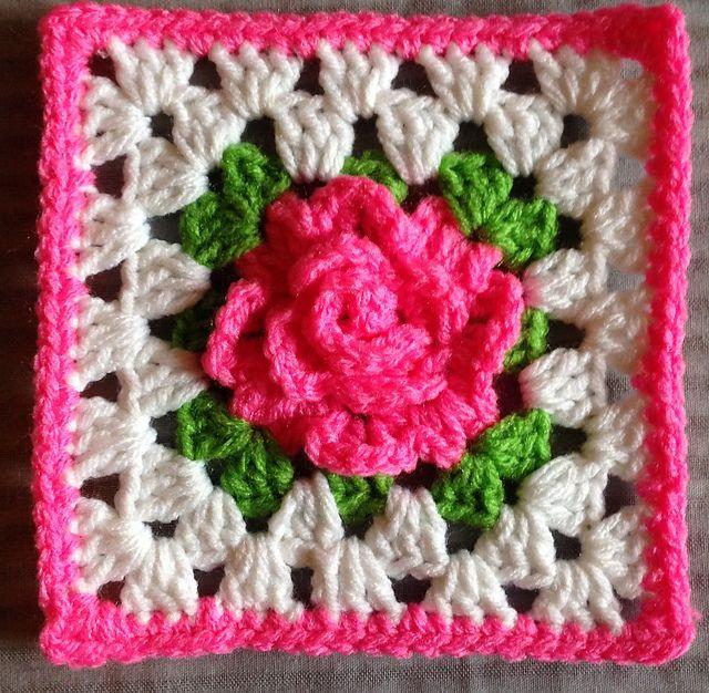 Ravelry Krikket207 S Pink Apple Blossom Square