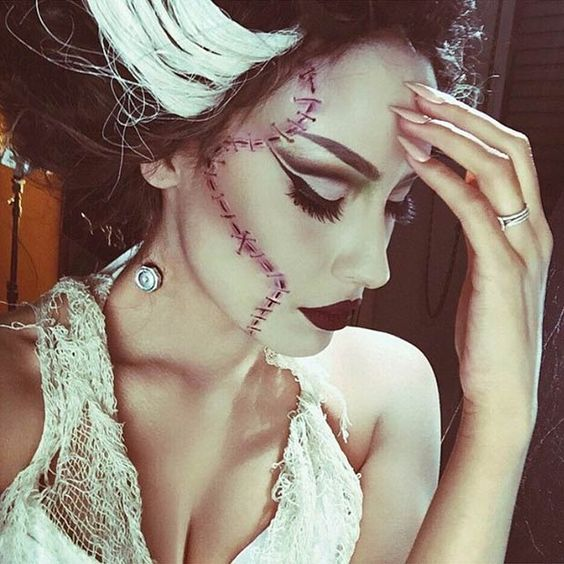 Rick Baker Bride Of Frankenstein makeup