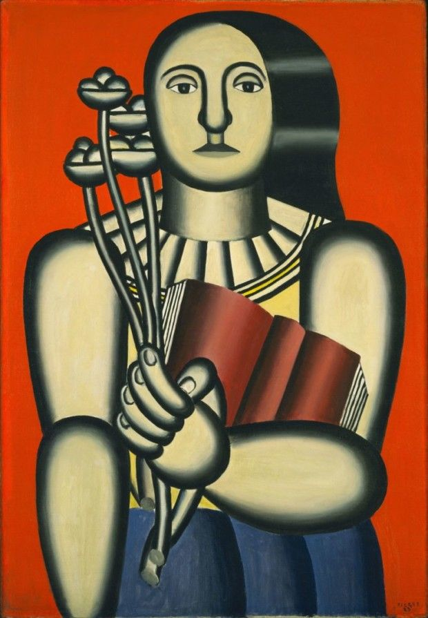 Fernand Léger, Woman with a Book, 1923, MoMA