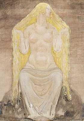Cerridwen är liksom Freja en fruktbarhets- och modersgudinna, men dessutom den poetiska ingivelsens gudinna. Två av hennes mest utmärkande drag är att hon vaktar över »the cauldron of Inspiration and Wisdom« (jag kan inte läsa keltisk primärlitteratur) och att hon har totemliknande inkarnationer som sugga och katta. Freja å sin sida har en guldborstig galt till riddjur och hennes vagn dras av ett kattspann.