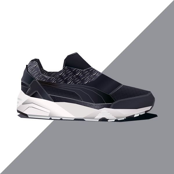 Shanedesigned on Instagram back again. This is the Puma x Stampd Trinomic Sock. #sneakers Check him out http://www.instagram.com/shanedesigned