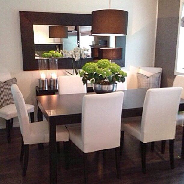 Sala de jantar decoraci n pinterest comedores - Ideas decoracion comedor ...