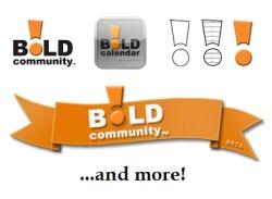 BOLD! Calendar: #Toolkit-graphics #iPAD #App