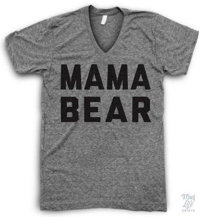 Mama Bear V Neck