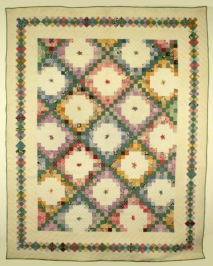 Irish Double Chain Quilt Pattern Free : 1000+ images about Irish Chain Quilts on Pinterest Free pattern, Antique quilts and Quilt designs
