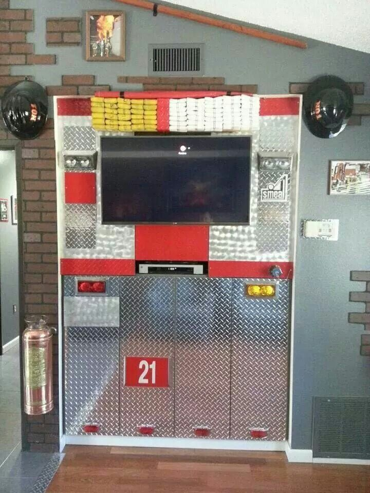 Urban Man Cave Fire : Best images about firefighter bedroom on pinterest