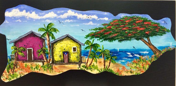 artesanias de puerto rico flamboy n y casitas en la playa On artesanias y manualidades puerto rico