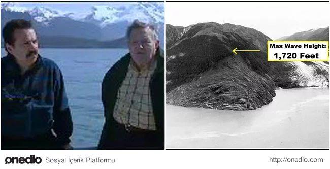 Howard Ulrich ve 7 yaşındaki oğlu balıkçı tekneleri ile dünyanın en büyük mega-tsunamisi'nden kurtuldular. 9 Temmuz 1958 günü Alaska'da meydana gelen deprem, neredeyse Eyfel Kulesinin iki katı büyüklüğünde bir tsunami oluşturdu! Ulrich çapasını çekmeye çalışırken tsunami dalgasının tekneyi en yukarı kaldırıp ağaçların olduğu bölgeye savurması sonucu oğlu ve Ulrich hayatta kalmayı başardılar.