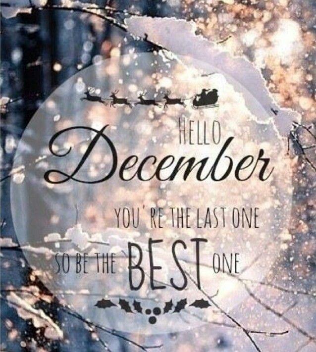 Risultati immagini per december month hello