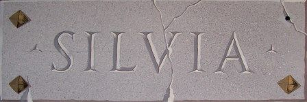 Incisione in finto granito (20*50cm)