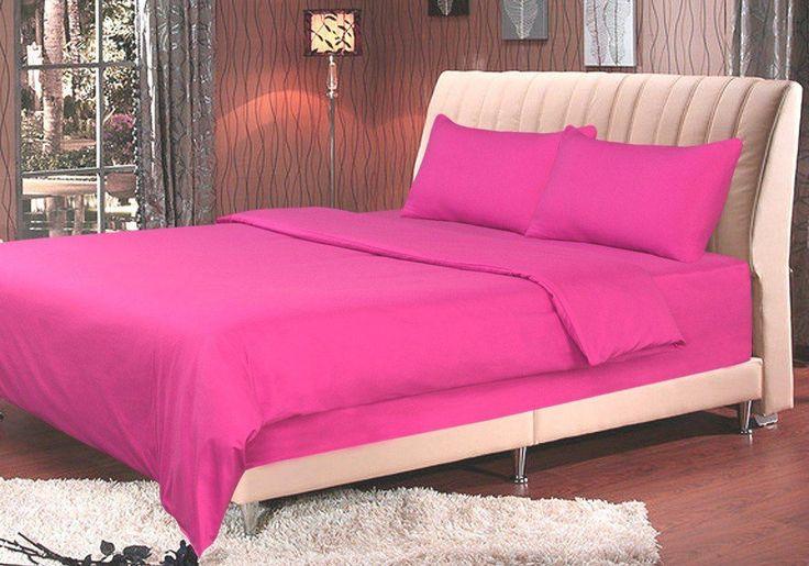 Tache 2-3 Piece Rose Pink Duvet Cover Set