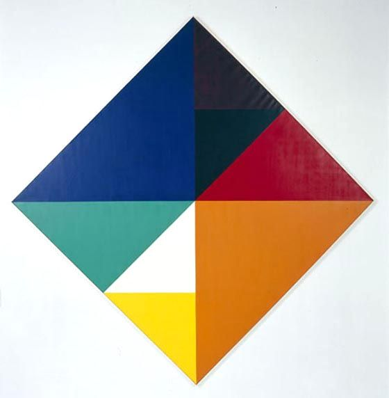 Max Bill - Making a square from triangles, inspiration