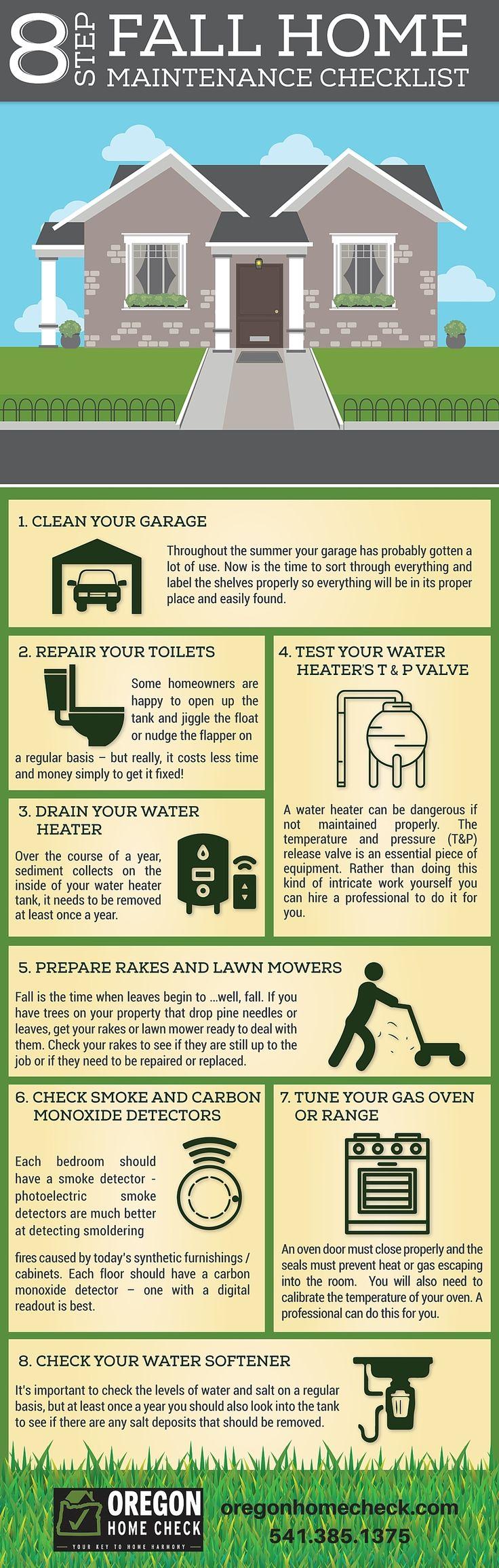 8Step Fall Home Maintenance Checklist geffkinnaman