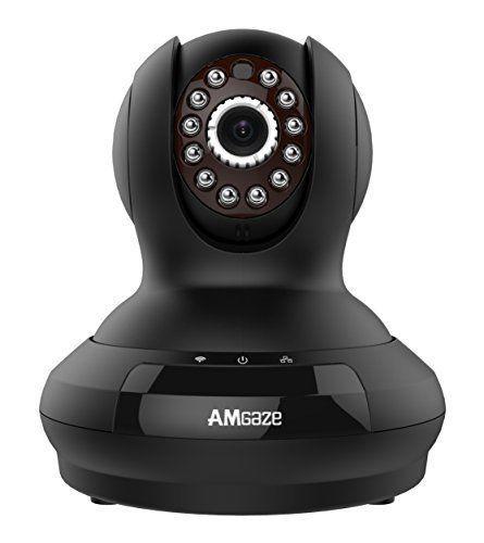 Wireless Baby Camera Monitor Pet Dog WiFi IP Night Vision & Alarm Security Audio #BabyPetSecurityCamera