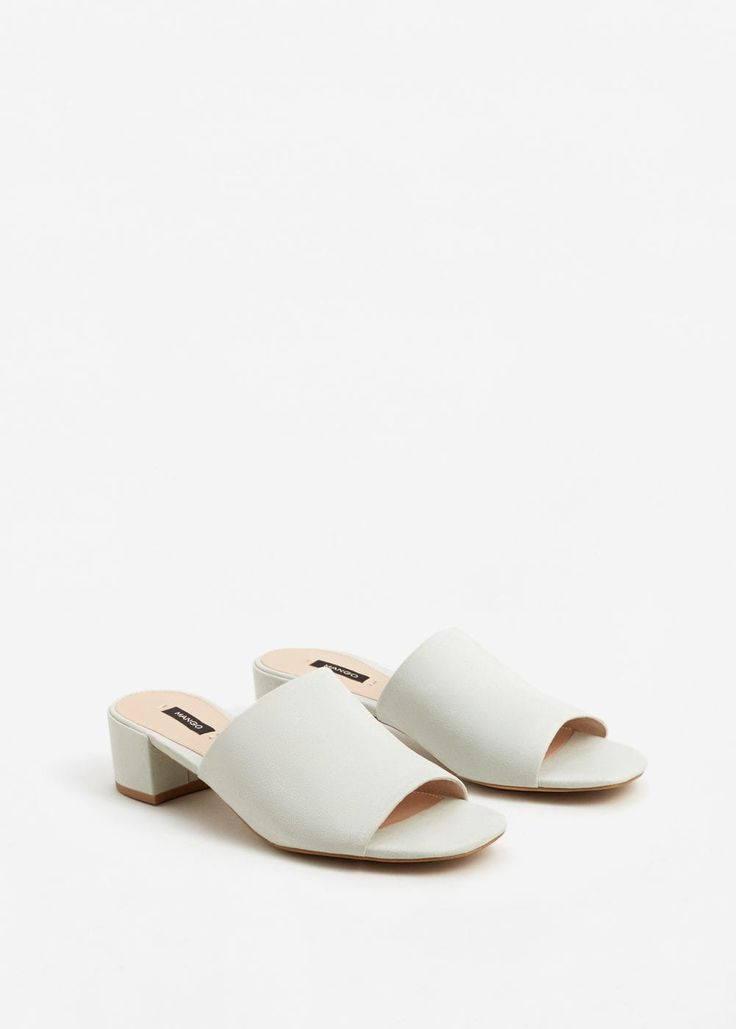 Heel destructured sandals | MANGO