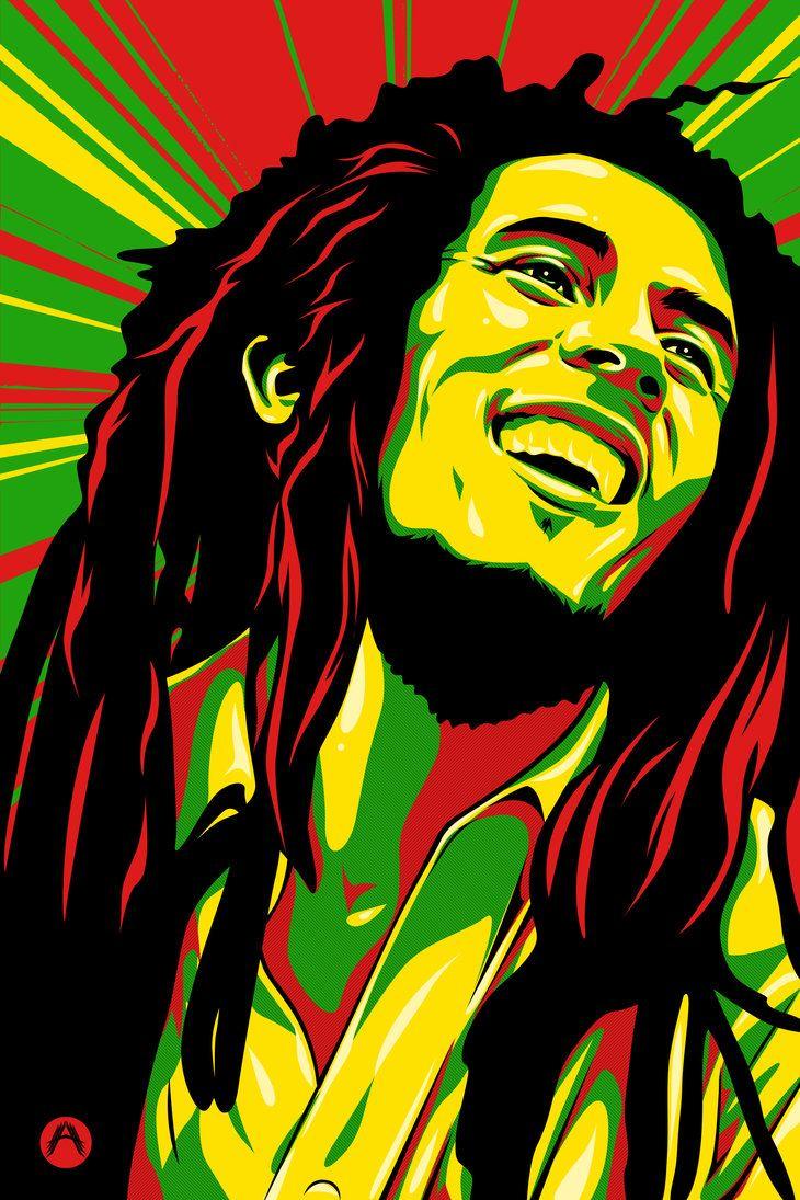 Bob Marley by silverhornet29